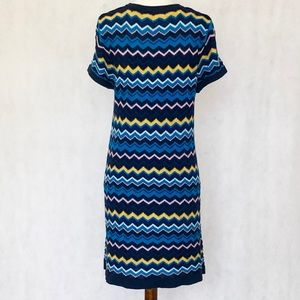 Missoni for Target Dresses - Missoni for Target Blue Zigzag Sweater Dress